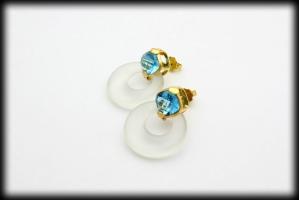 18 karaat gouden oorknoppen