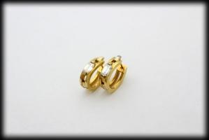 18 karaat gouden oorringen