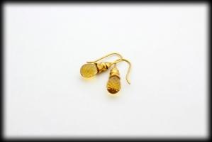 18 karaat gouden oorhanger