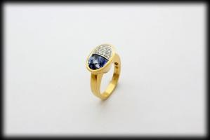 18 karaat gouden ring